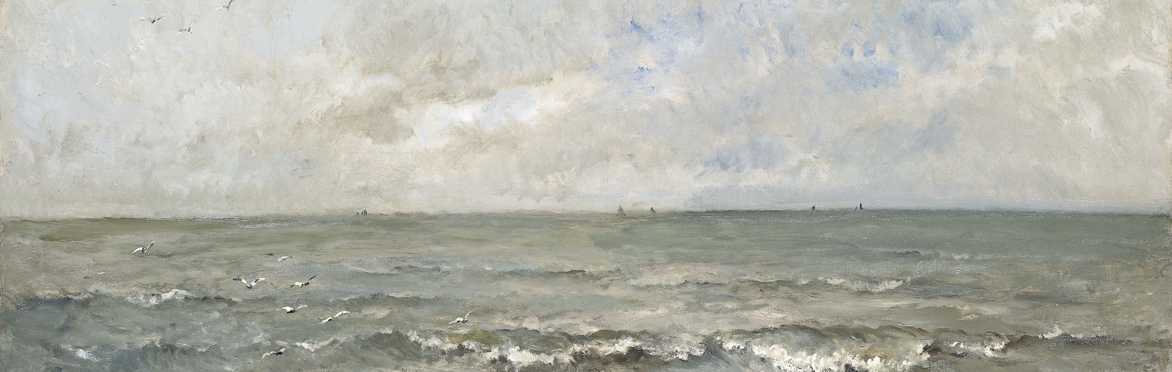 Zeegezicht, Charles-François Daubigny, 1876_crop